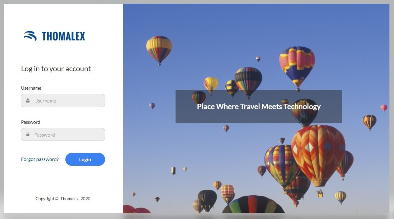 Online Corporate Booking Tool